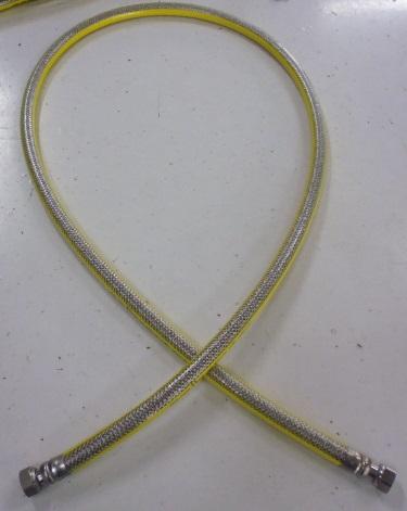 Гъвкав гофриран метален маркуч DN12 EN14800