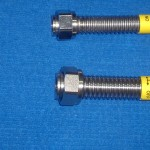 "[:bg]Гайка тип ""F"" заварена към гъвкава метална тръба[:eng]Nut type ""F"" weldet to a flexible metal hose"