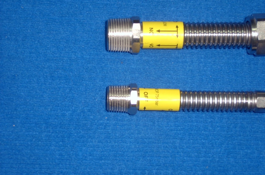 "[:bg]Нипел тип ""М"" заварен към гъвкава метална тръба[:eng]Nipple type ""М"" weldet to a flexible metal hose"