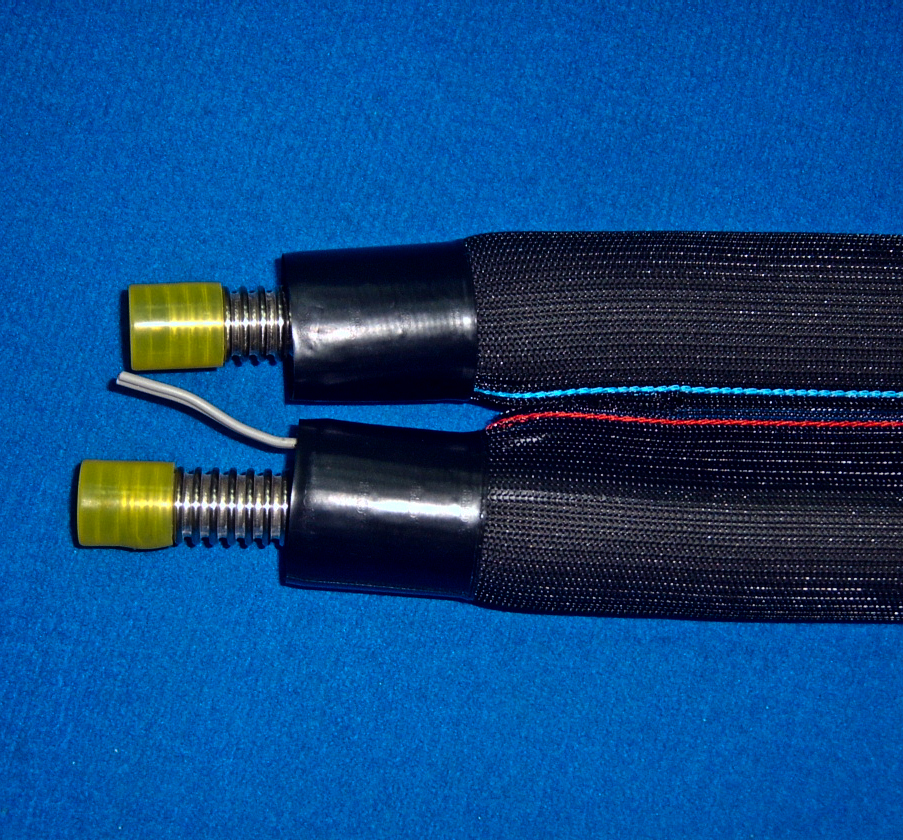 Flexible metal hose with insulation 2-in-1 with cap EZ-FLEX