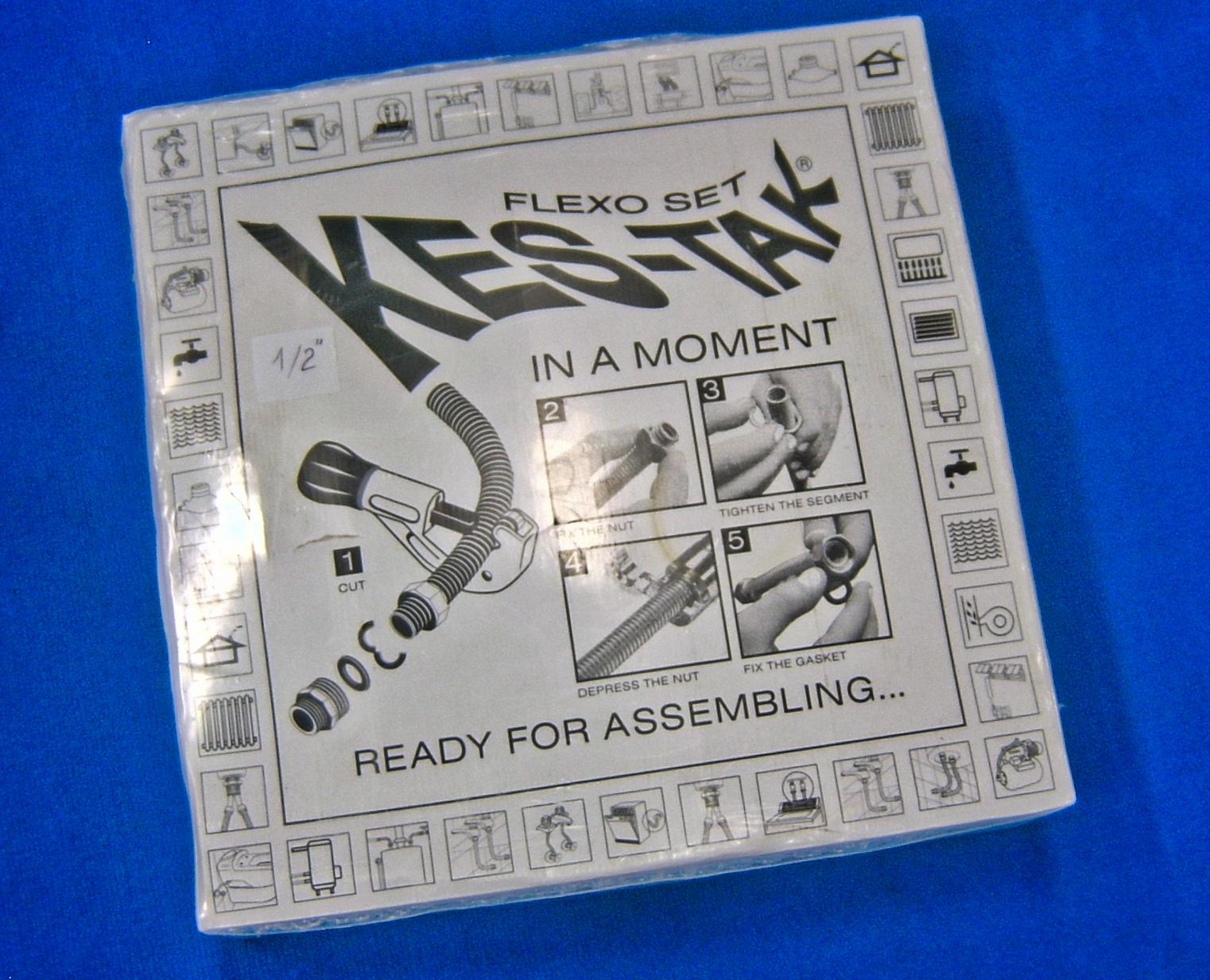 Кутия с гъвкав монтажен комплект Кес-Так