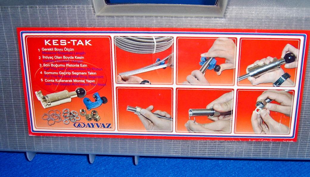 """Mounting set bag Kes-Tak 1/2"""" - 3/4"""""""